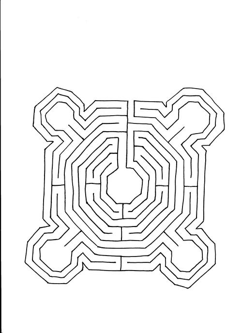 Labyrinth at City Park, Baton Rouge, Louisiana